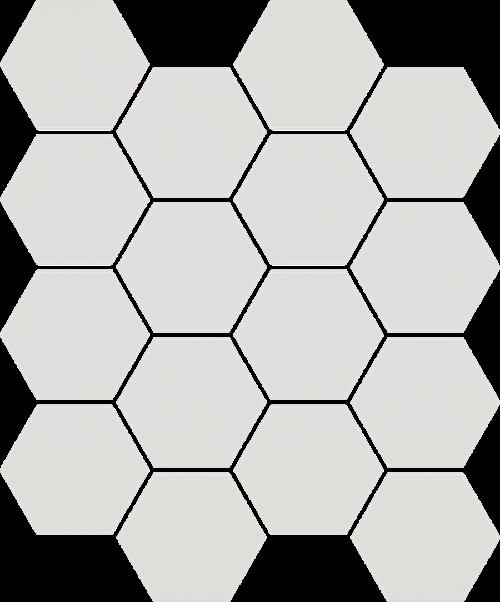 Paradyż Uniwersalna Mozaika Prasowana Grys Paradyż Hexagon