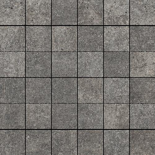 Paradyż Riversand Grafit Mozaika Cięta K.4,8X4,8 Półpoler