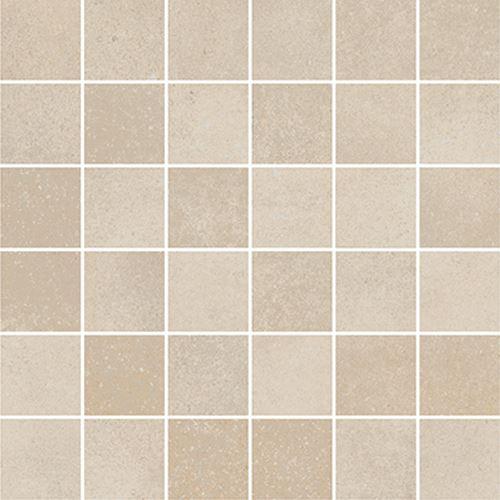Cersanit Velvet Concrete beige mosaic matt rect ND1110-038