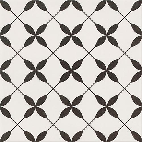 Opoczno Patchwork Clover Black Pattern OP867-002-1