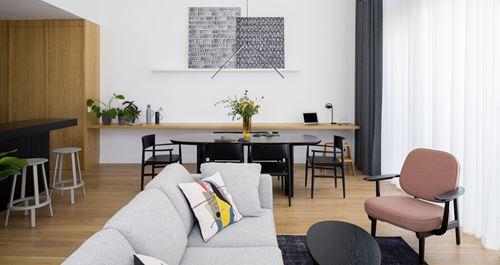 Nowoczesny apartament z antresolą