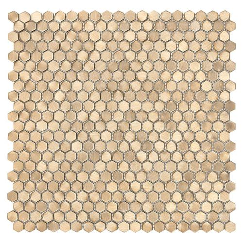 Dunin Metallic Allumi Gold Hexagon 14