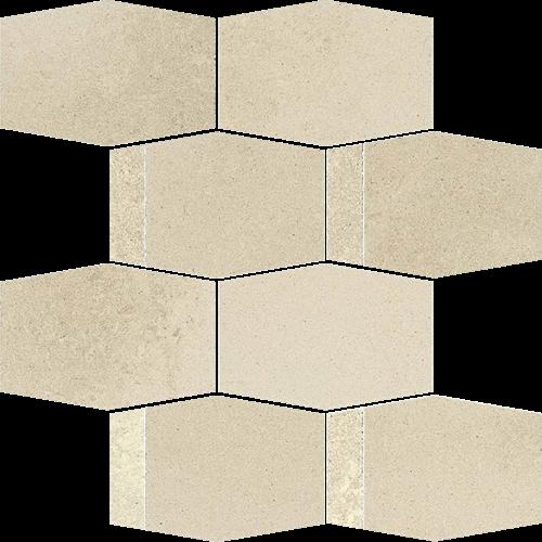 Paradyż Naturstone Beige Mozaika Cięta Hexagon Mix