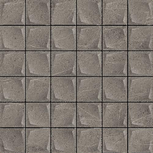 Paradyż Minimal Stone Grafit Mozaika Prasowana K.4,8X4,8