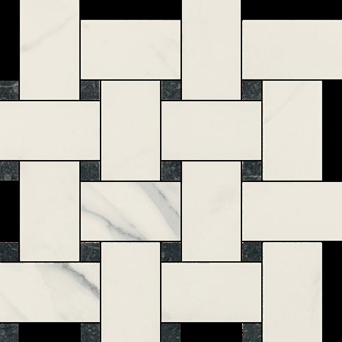 Paradyż Uniwersalna Mozaika Bianco Paradyż Pantos