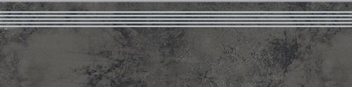 Opoczno Quenos Graphite Steptread OD661-080