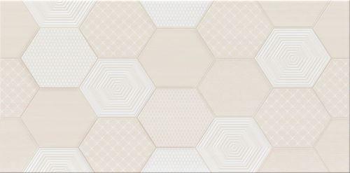 Cersanit Tulisa cream inserto geo WD497-002