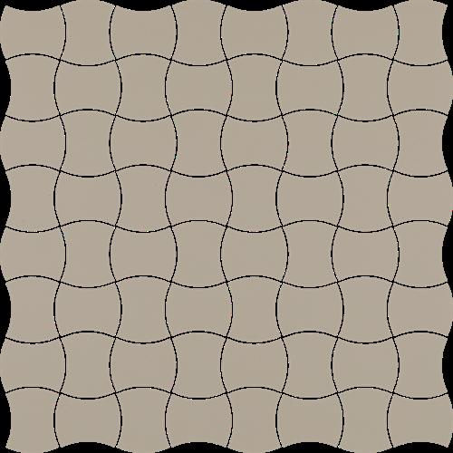 Paradyż Modernizm Grys Mozaika Prasowana K.3,6X4,4