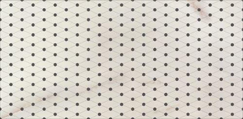 Opoczno Carrara White Inserto Classic OD001-004