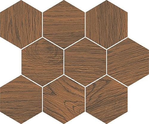 Cersanit Finwood ochra mosaic hexagon WD565-003