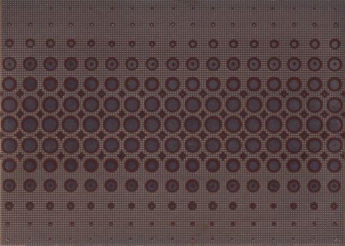 Cersanit Optica brown inserto modern WD240-015