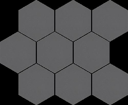 Cerrad Mozaika heksagon Cambia grafit lappato 36736