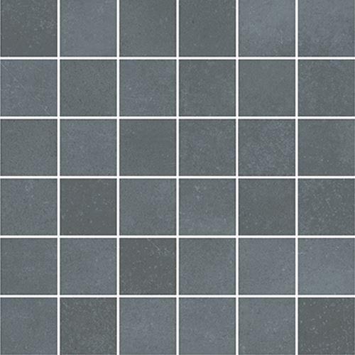 Cersanit Velvet Concrete grey mosaic matt rect ND1110-041
