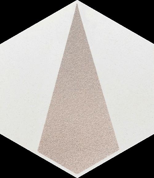 Paradyż Esagon Concrete Silver Inserto C