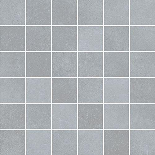 Cersanit Velvet Concrete light grey mosaic matt rect ND1110-040