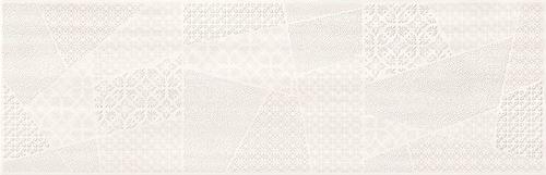 Cersanit Ferano white patchwork inserto satin ND859-004