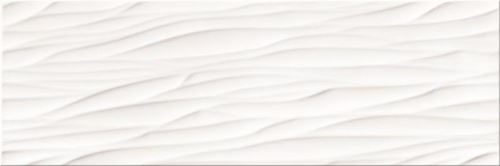 Opoczno Structure Pattern White Wave Structure OP365-006-1