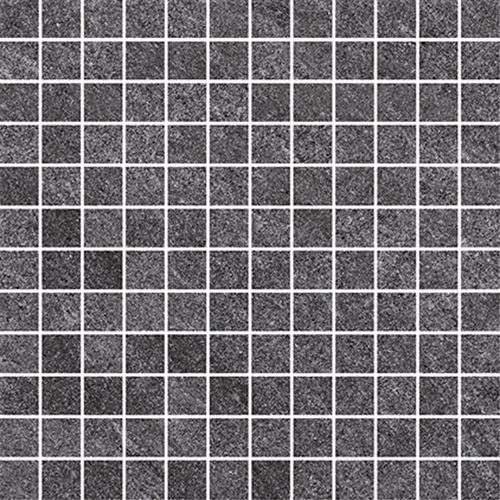 Cersanit Bolt dark grey mosaic matt ssq rect ND090-015