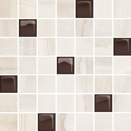 Opoczno Simple Stone Beige Glass Mosaic OD434-005