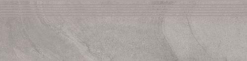Cersanit Spectral light grey steptread matt rect ND816-027