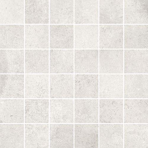 Cersanit Diverso white mosaic matt rect ND576-048
