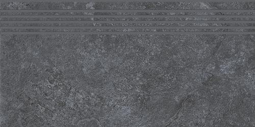 Cersanit Colosal graphite steptread matt rect ND1140-008