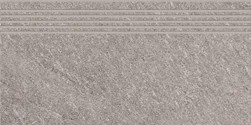 Cersanit Bolt  light grey steptread matt rect ND090-026