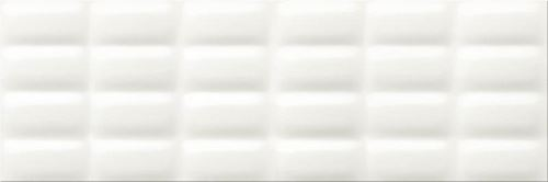 Opoczno White Glossy Pillow OP684-004-1