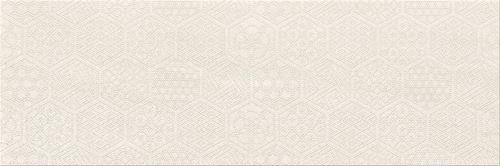 Cersanit Bantu cream heksagon inserto glossy W598-002-1