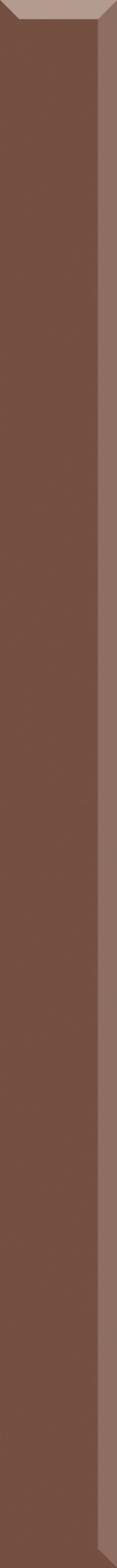 Paradyż Uniwersalna Listwa Szklana Marrone