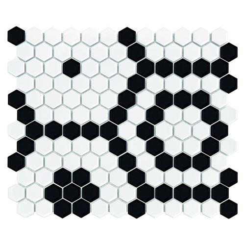 Dunin Hexagonic Mini Hexagon B&W Bee
