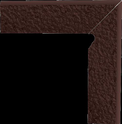 Paradyż Natural Brown Cokół 2 El.-Prawy Duro 8,1X30 G1