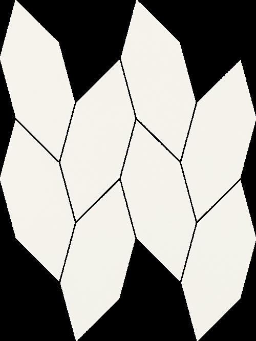 Paradyż Uniwersalna Mozaika Bianco Paradyż Torton