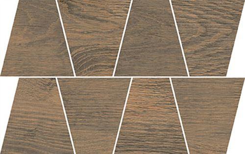 Opoczno Rustic Brown Mozaic Trapeze OD498-086