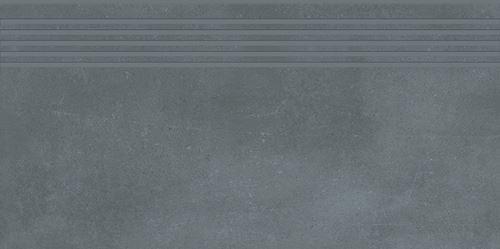 Cersanit Velvet Concrete grey steptread matt rect ND1110-026
