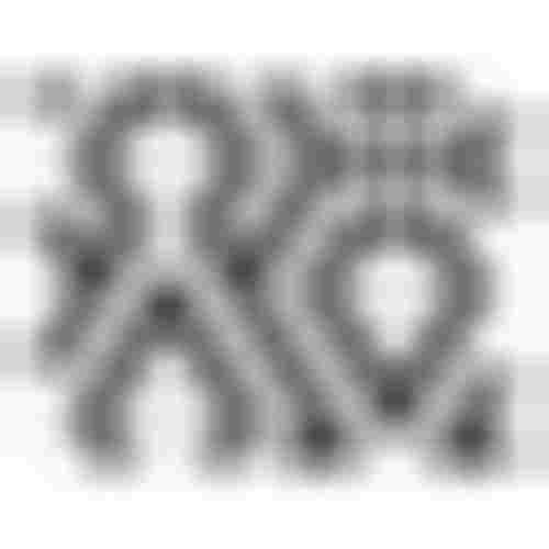 Dunin Hexagonic Mini Hexagon B&W Lace