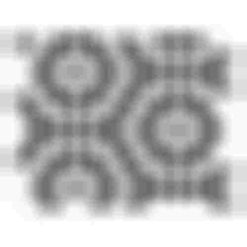 Dunin Hexagonic Mini Hexagon B&W Nano