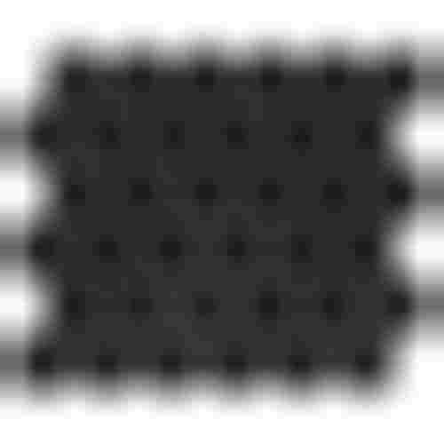 Dunin Hexagonic Black 51 matt