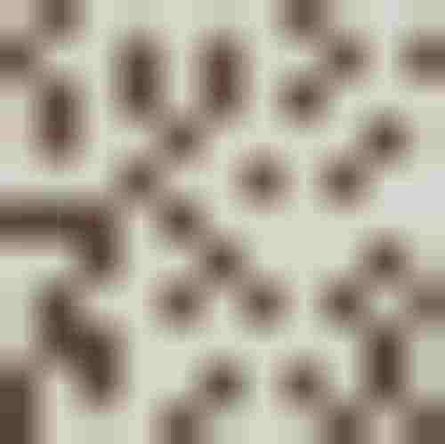 Domino Aceria brąz