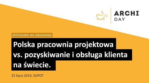 archiDAY SPOTKANIE NA ŚNIADANIE / SOPOT