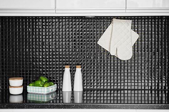 Mozaika w kuchni - pomysł na ściany
