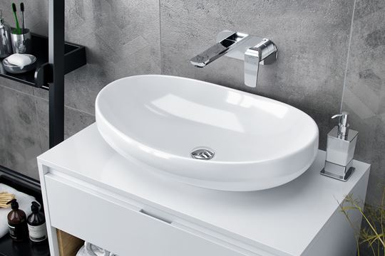 Umywalki do nowoczesnych wnętrz