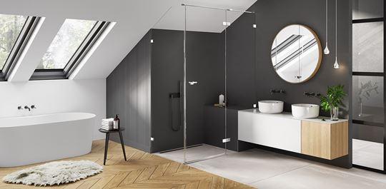 Eventa - idealnie dopasowana kabina prysznicowa