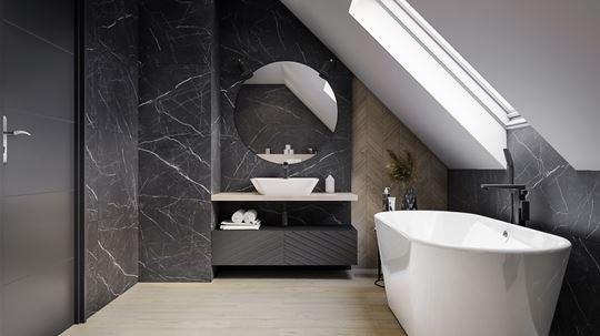 Oświetlenie lustra w łazience