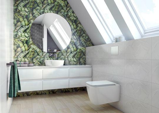 Szklane dekoracje do łazienki
