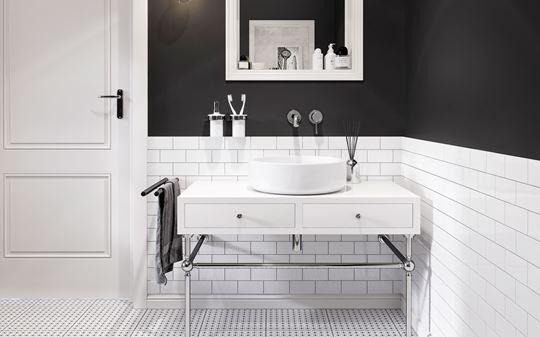 Łazienka w stylu art-deco
