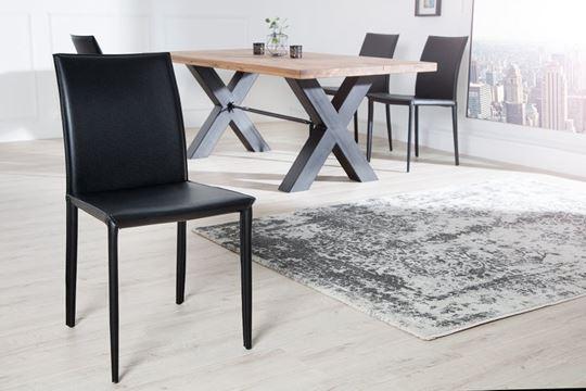 Czarne krzesła do jadalni – ponadczasowe rozwiązanie na lata