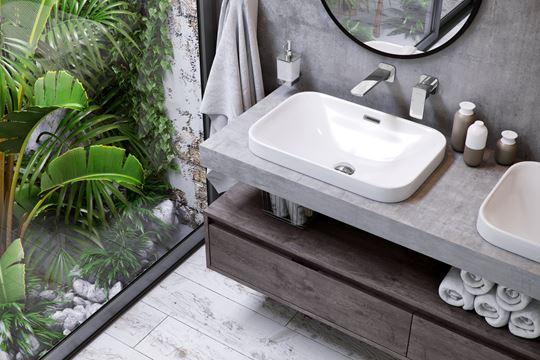 Ceramika do małej łazienki