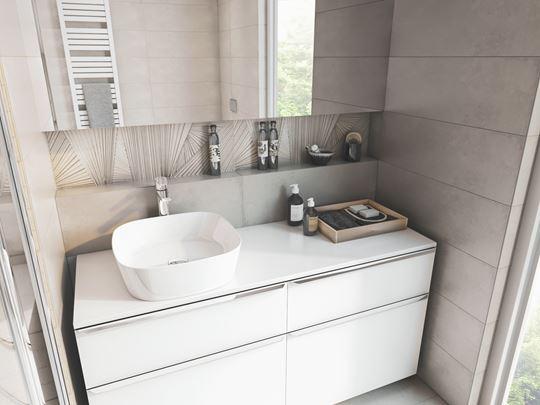 Dekoracje do łazienki: mozaika, dekory, listwy