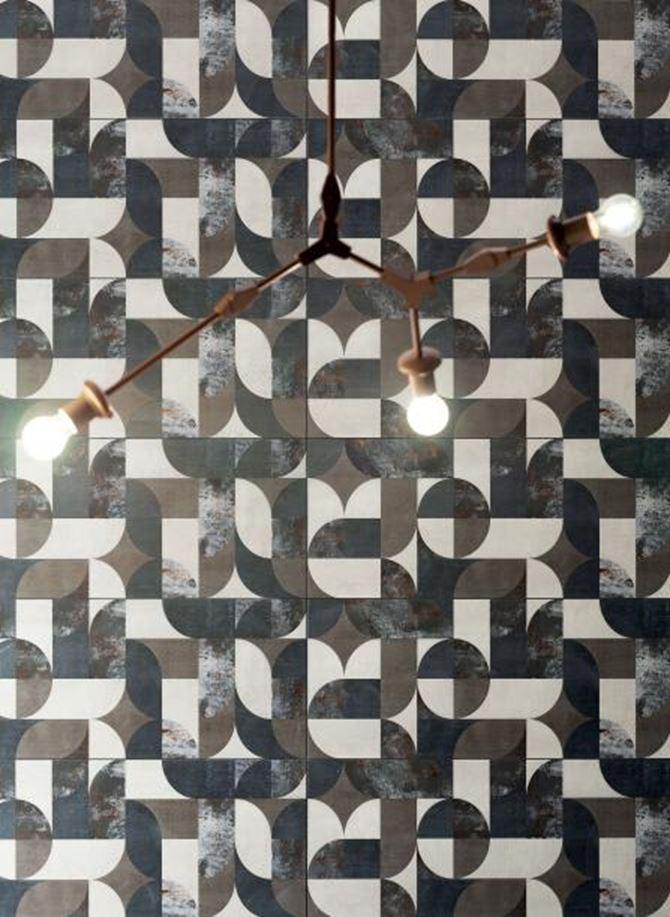 Detal płytki dekoracyjnej Tubądzin Grunge